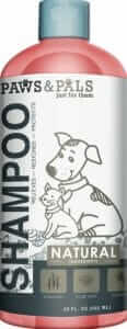 Paws and pals shampoo
